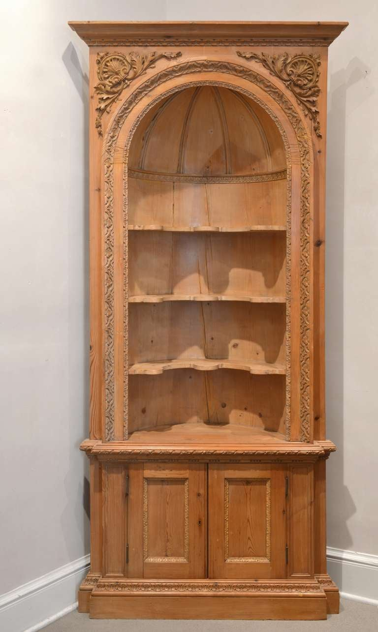 corner furniture pair of 19th century french corner cabinets at 1stdibs