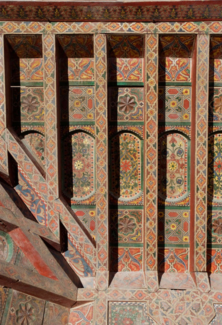 Three 19th Century Moroccan Ceilings For Sale 4
