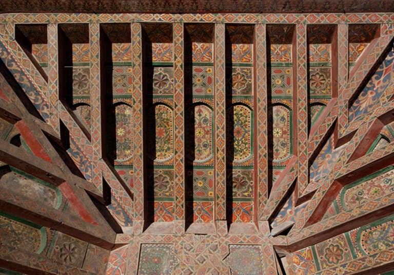 Rustic Three 19th Century Moroccan Ceilings For Sale