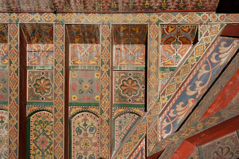 Three 19th Century Moroccan Ceilings For Sale 5