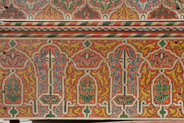 Wood Three 19th Century Moroccan Ceilings For Sale
