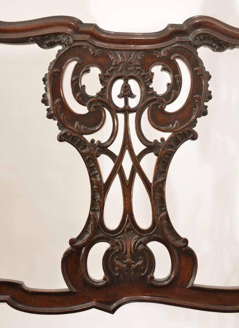Brazilian 18th Century Settee from Brazil For Sale