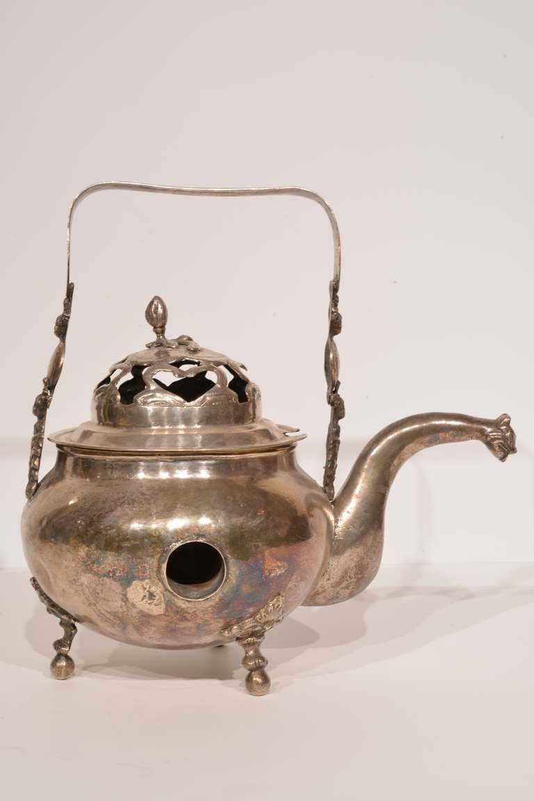 Spanish Colonial Bolivian Hot Chocolate Pot For Sale