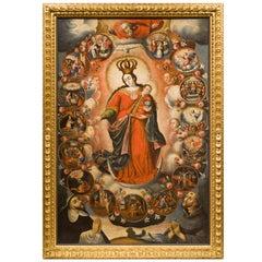 """""""La Virgen del Rosario"""", Painting"""