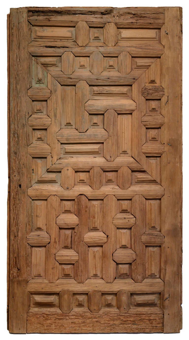 Pair Of Mexican Doors At 1stdibs
