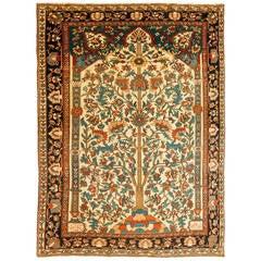 Ferraghan Sarouk Prayer Rug