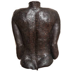 Sculpture of a Woman's Back
