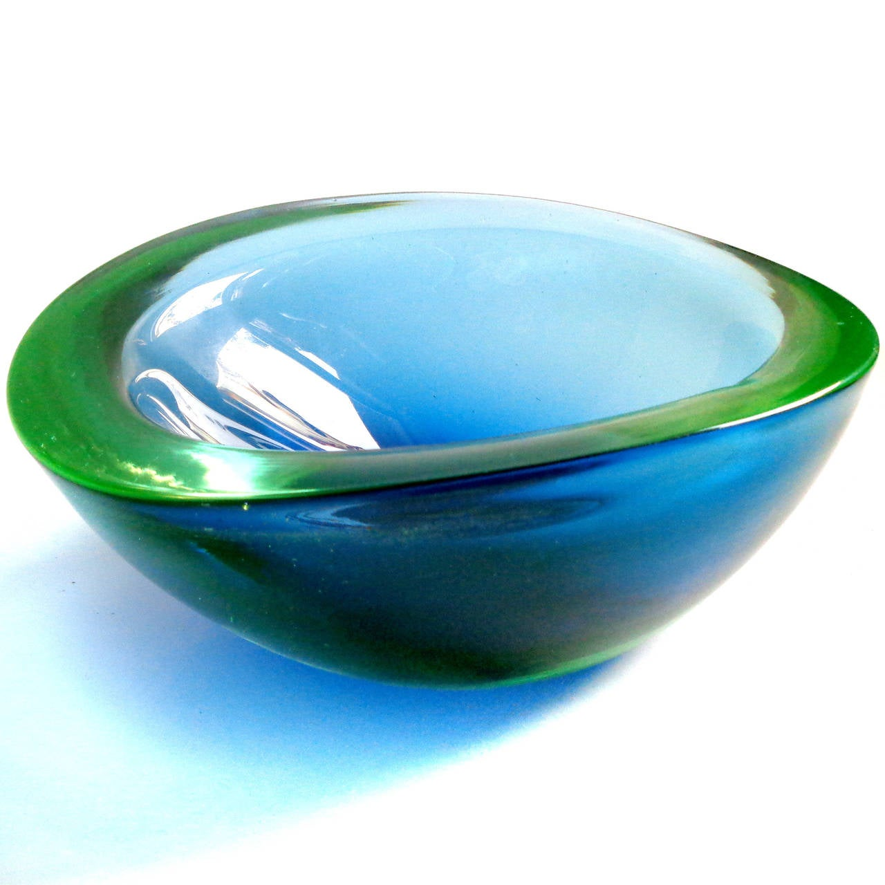 Blue Green Bowl 80