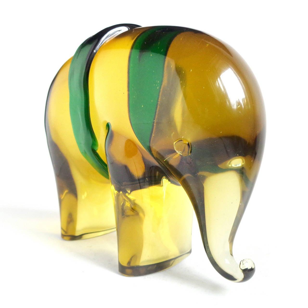 Gaspari Salviati Murano Sommerso Italian Art Glass