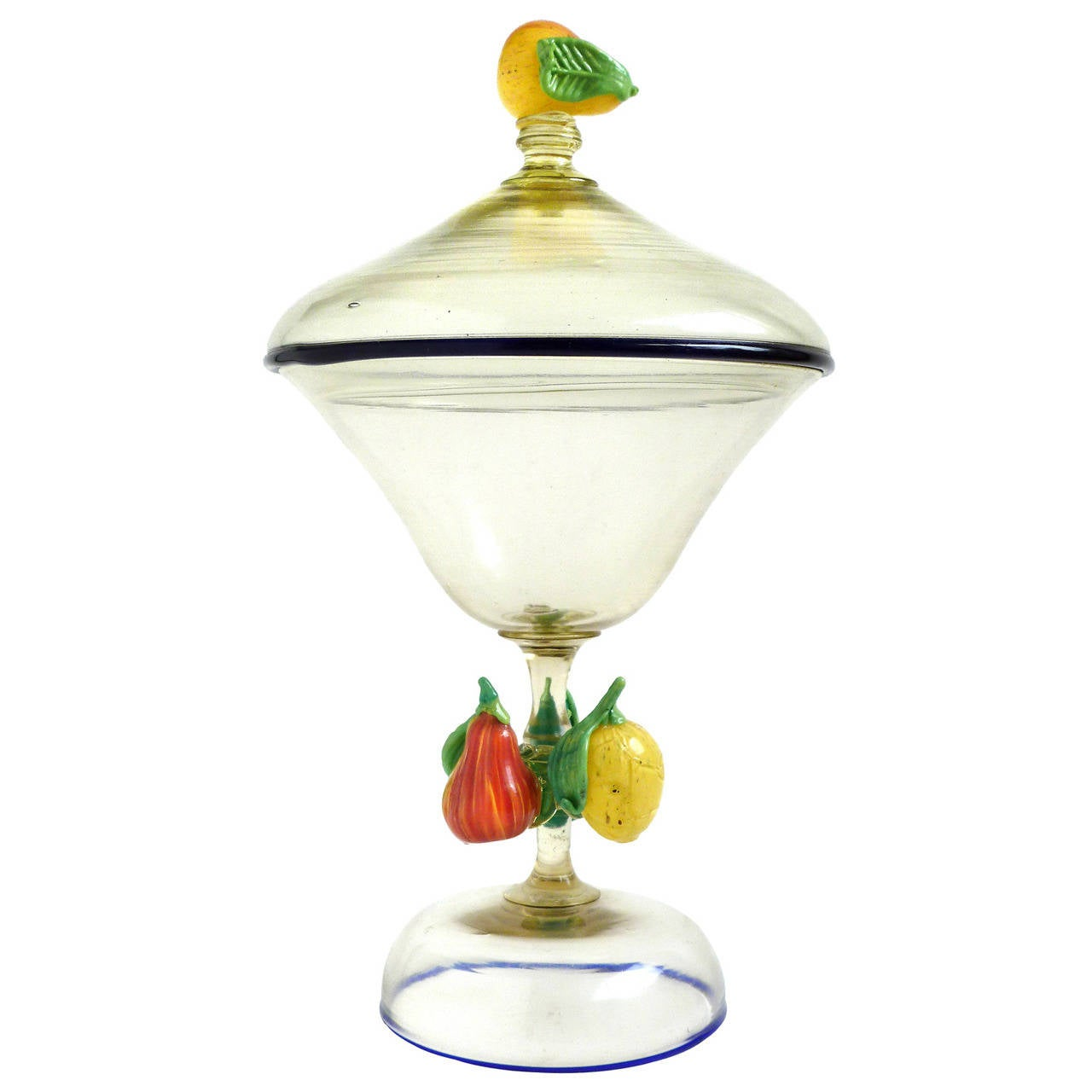 Antique fruit glass murano vintage