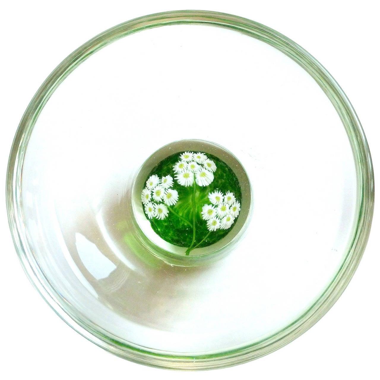Fratelli toso murano millefiori wild flowers italian art glass fratelli toso murano millefiori wild flowers italian art glass paperweight bowl for sale mightylinksfo