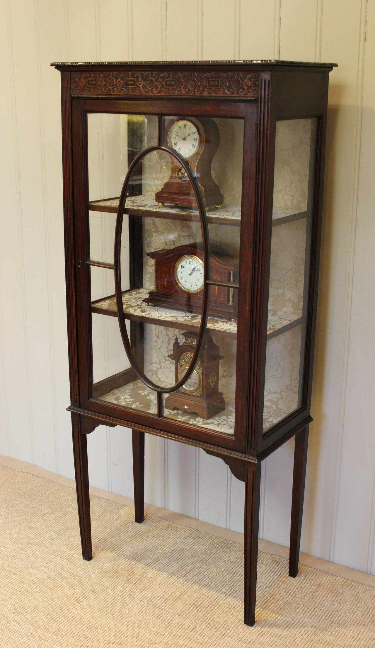 #907E3B Mahogany Display Cabinet At 1stdibs with 1280x2212 px of Recommended Mahogany Display Cabinets With Glass Doors 22121280 save image @ avoidforclosure.info