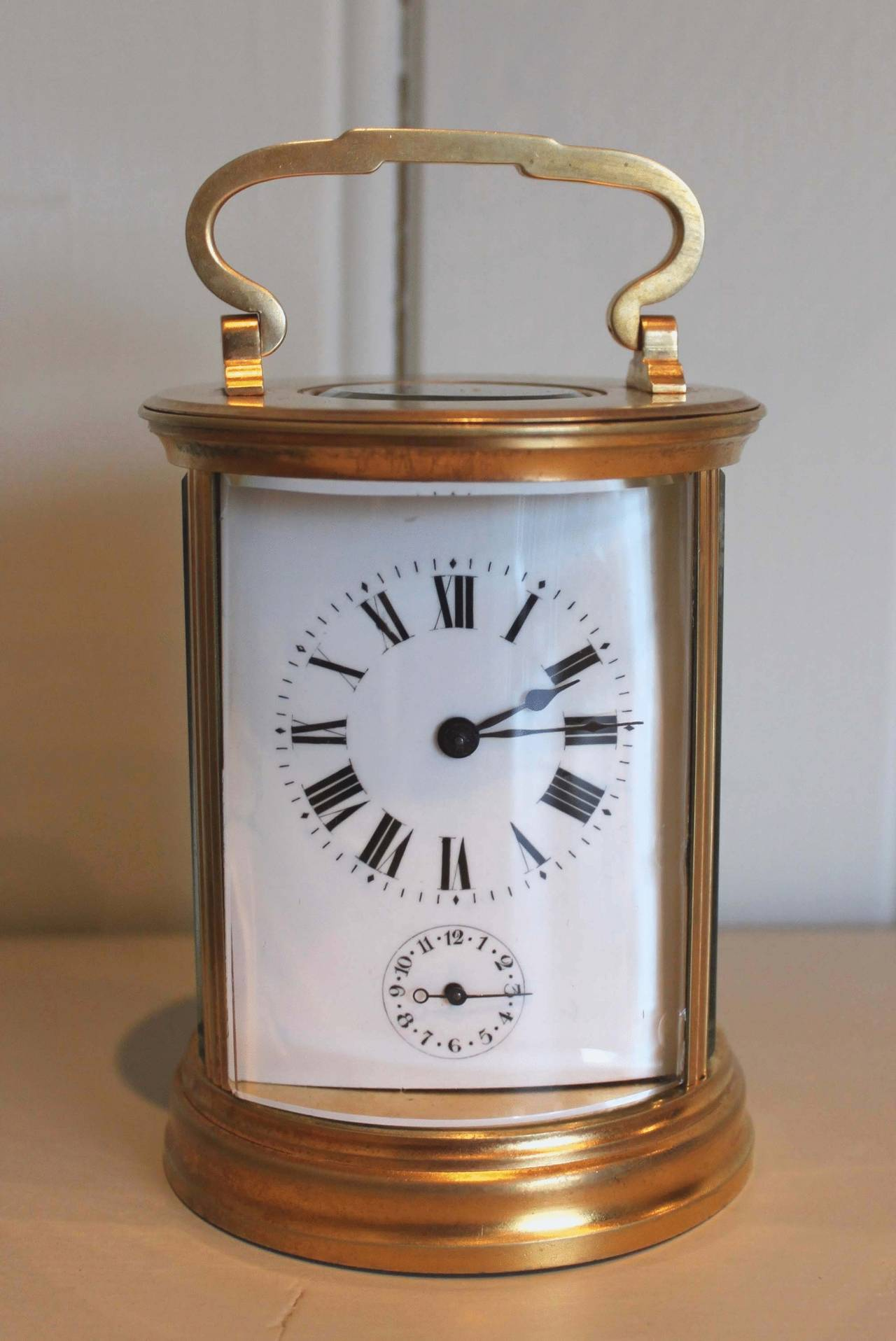 Unusual circular carriage clock at 1stdibs Unusual clocks for sale
