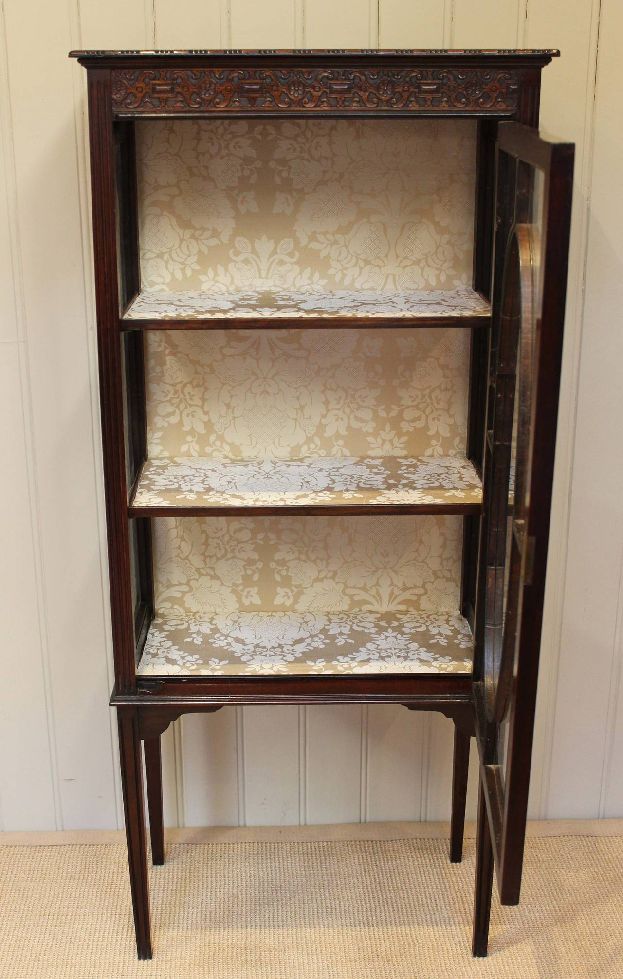 #91663A Mahogany Display Cabinet At 1stdibs with 1280x2013 px of Recommended Mahogany Display Cabinets With Glass Doors 20131280 save image @ avoidforclosure.info