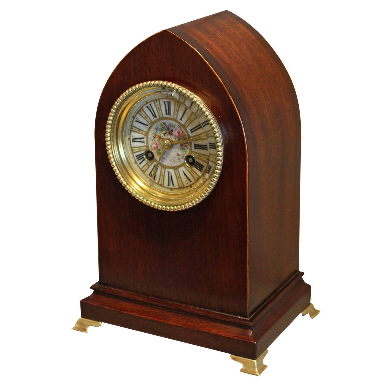 Tiffany And Co Mahogany Mantel Clock At 1stdibs