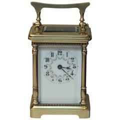 Edwardian Timepiece Carriage Clock