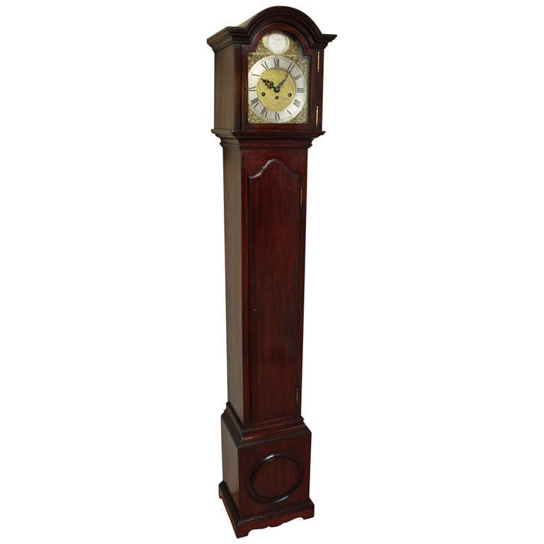 Mahogany Westminster Chime Grandmother Clock At 1stdibs