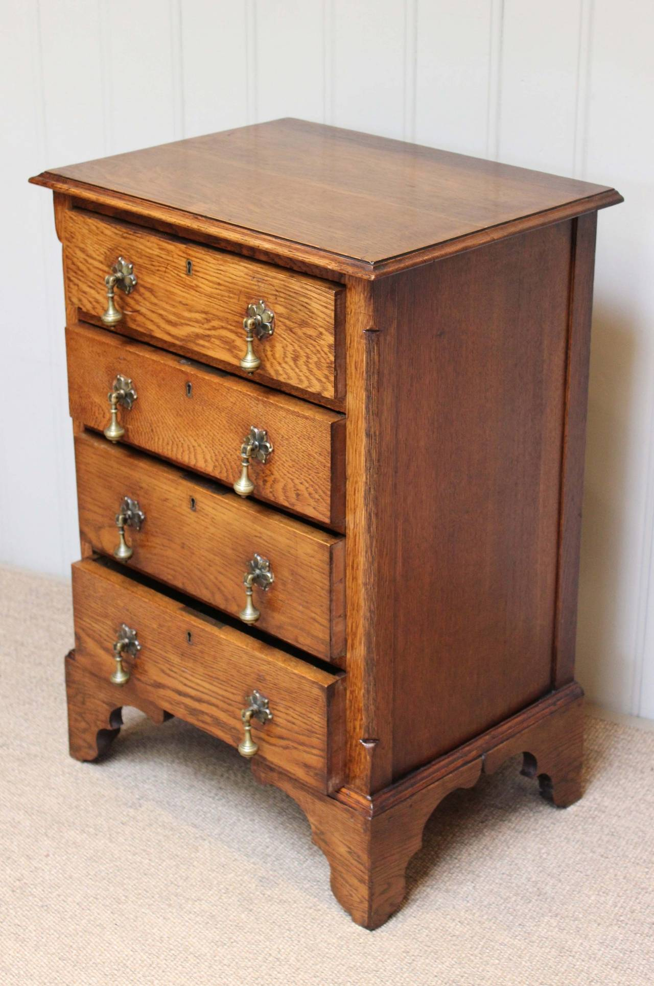 #AB5120 Small Proportioned Solid Oak Chest Of Drawers At 1stdibs with 1280x1931 px of Most Effective Low Height Chest Of Drawers 19311280 wallpaper @ avoidforclosure.info