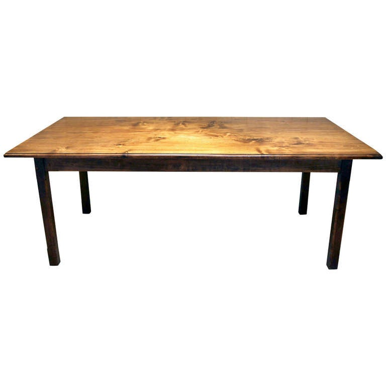 large french poplar farmhouse table at 1stdibs