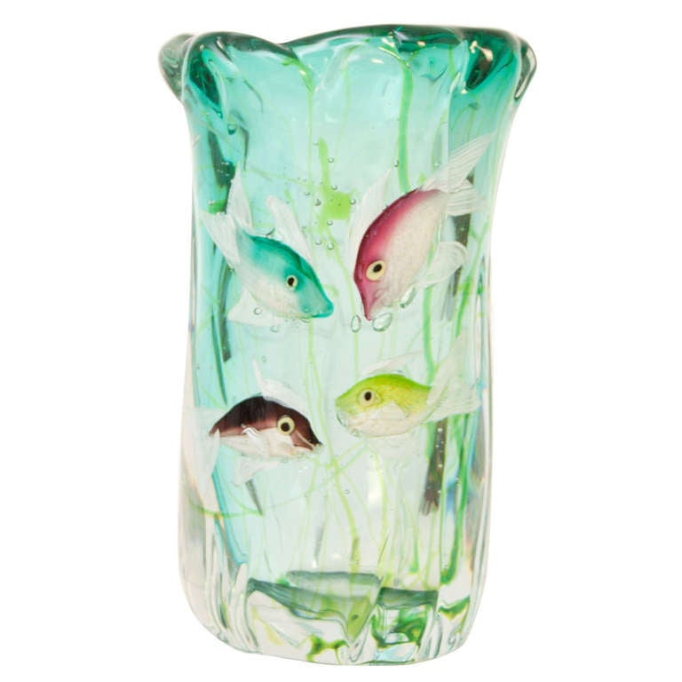 an aquarium vase at 1stdibs. Black Bedroom Furniture Sets. Home Design Ideas