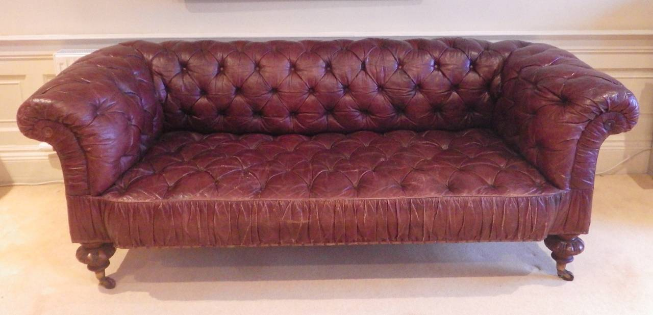 Merveilleux A Superb Quality And Very Comfortable Victorian Sofa Made By Mackenzie  U0026amp; Mitchell Of Edinburgh