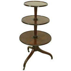 Antique Three Tier Dumb Waiter