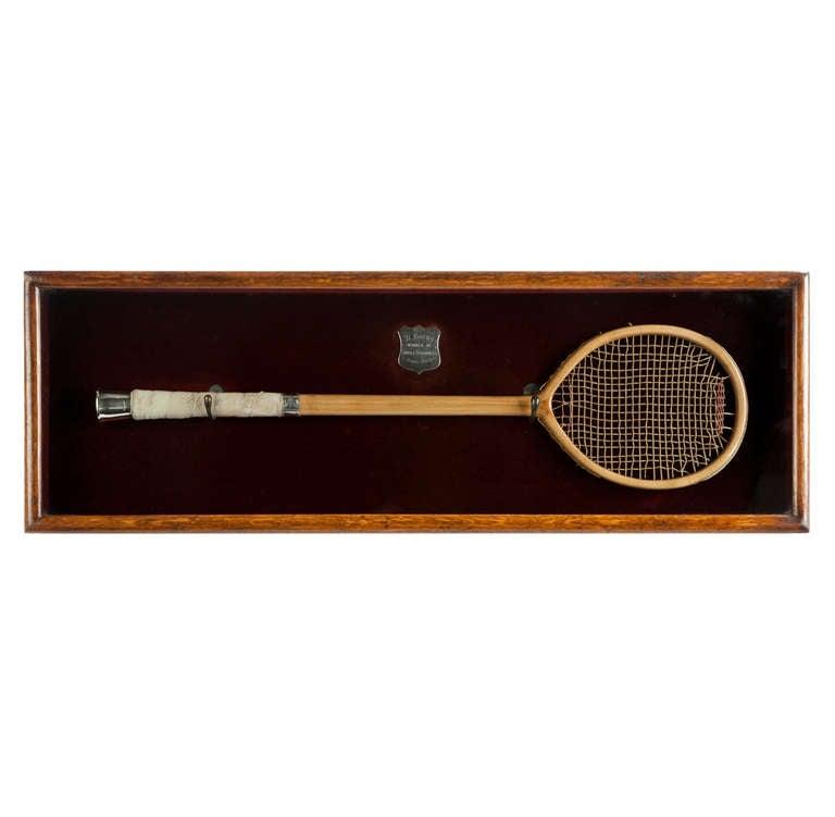 Antique Eton Presentation Racquets Racket, Tennis Racket. For Sale