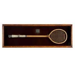 Antique Eton Presentation Racquets Racket, Tennis Racket.