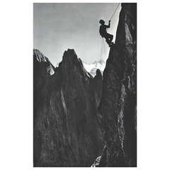 Vintage Photography, Climber, SImmelstoc