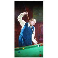 Joe Davis, Billiared or Snooker Painting