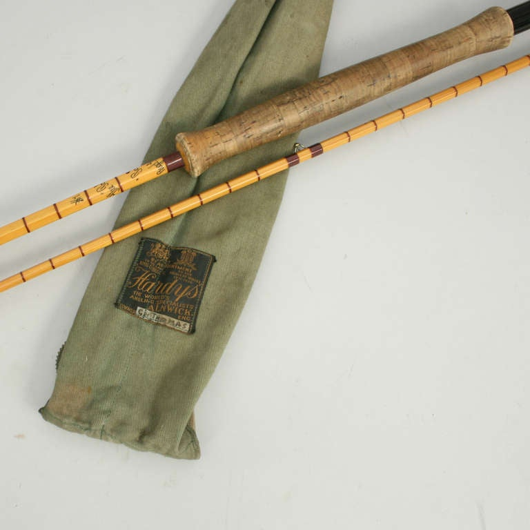 Vintage hardy pope fly fishing rod at 1stdibs for Vintage fishing poles