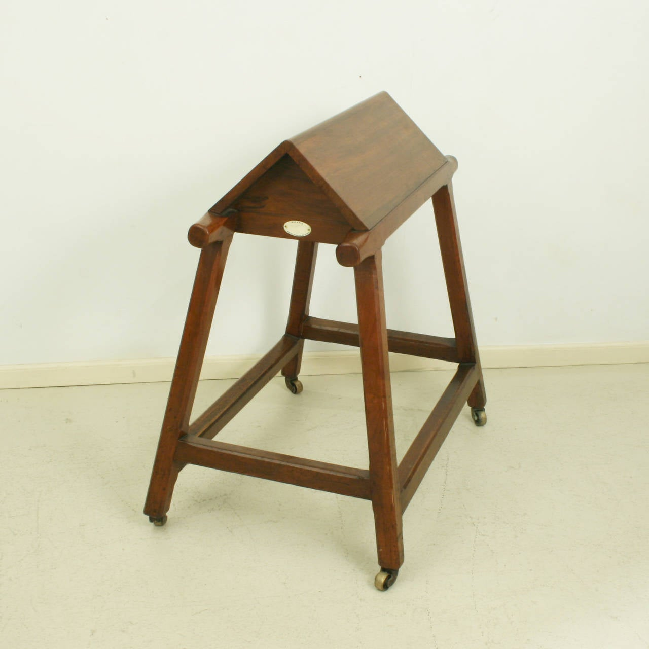 Saddle Rack Wooden Horse For Sale At 1stdibs. Full resolution  portrait, nominally Width 1280 Height 1280 pixels, portrait with #643F1D.