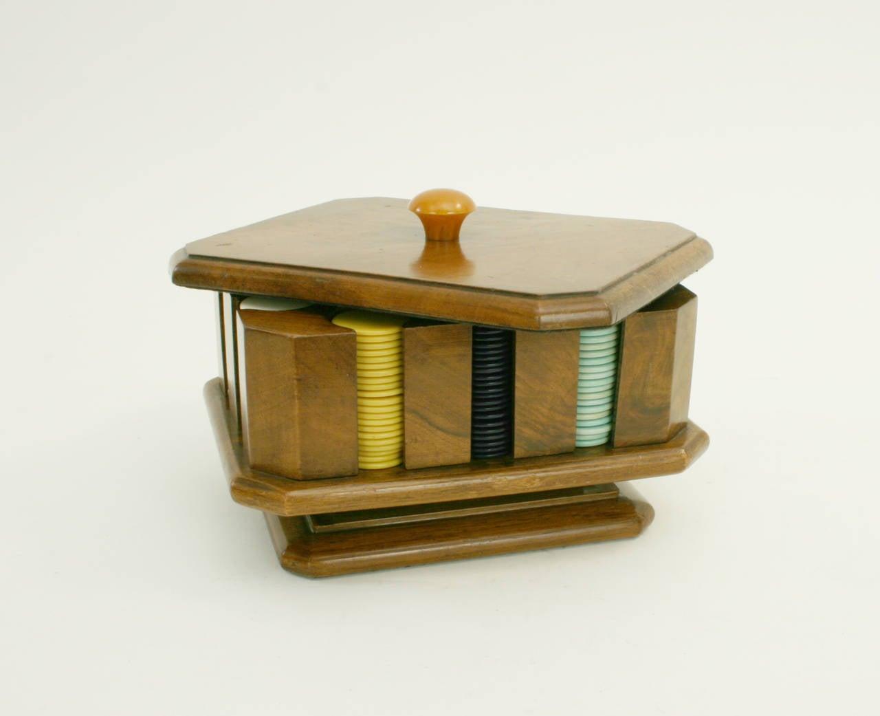 Antique poker chips identification