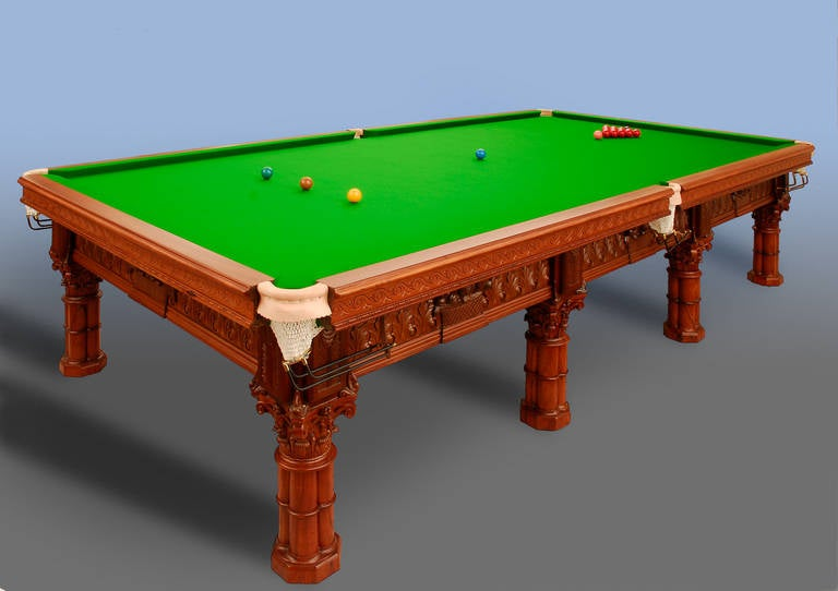 Antique Snooker Billiard Or Pool Table For Sale At 1stdibs