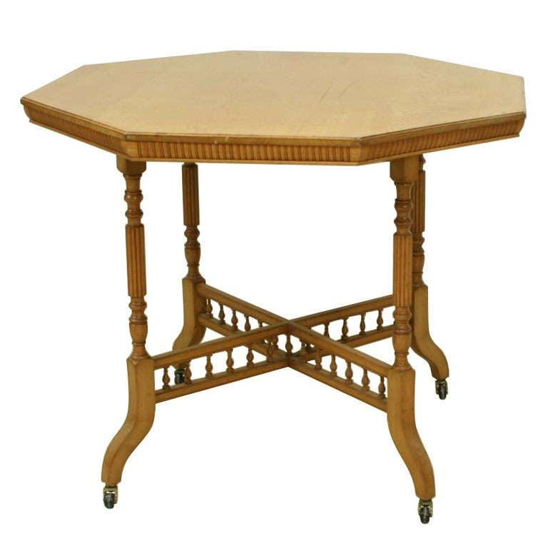 Antique Oak Table By James Shoolbred.