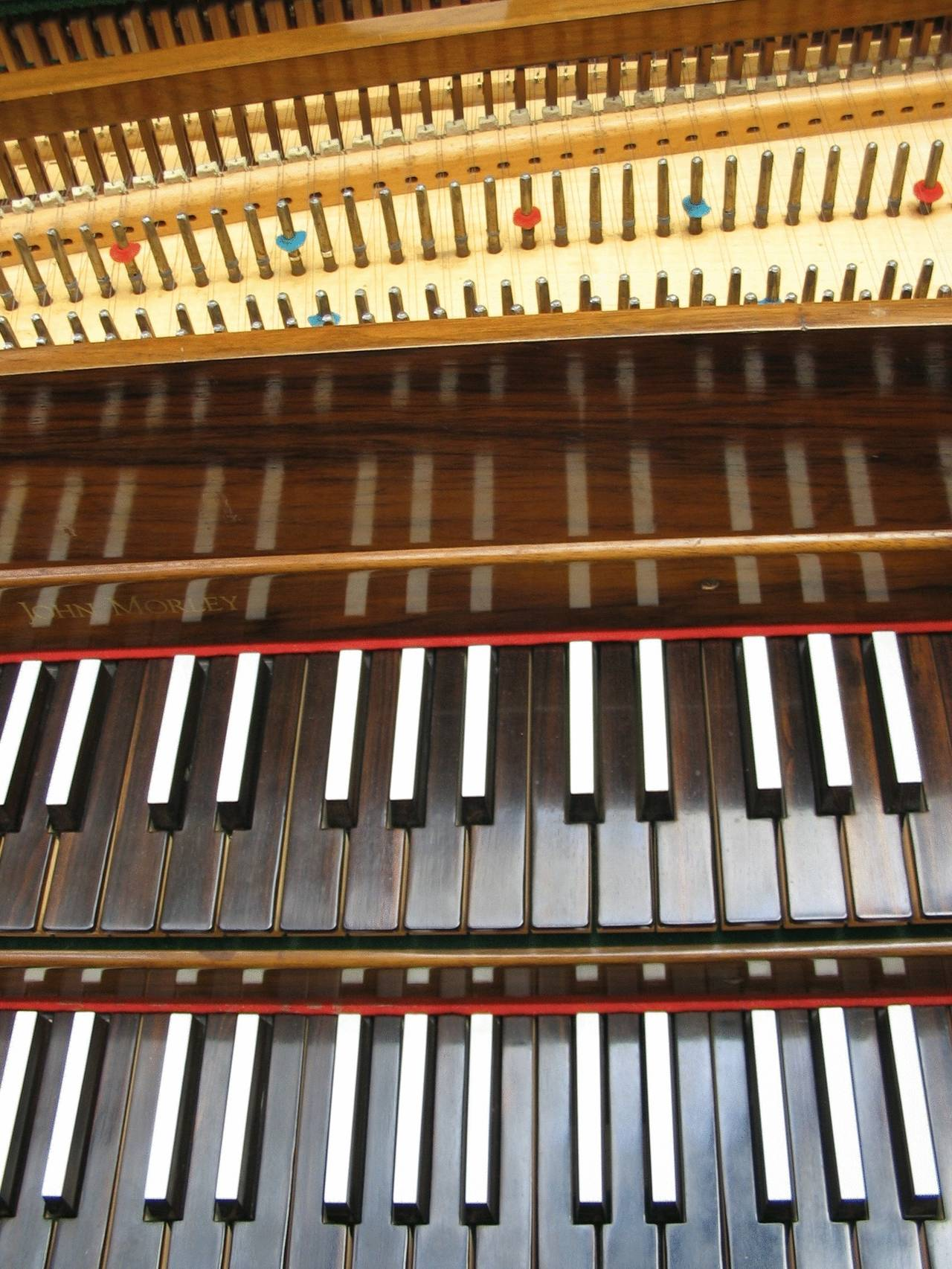John Morley Harpsichord, English Double Manual For Sale at ...