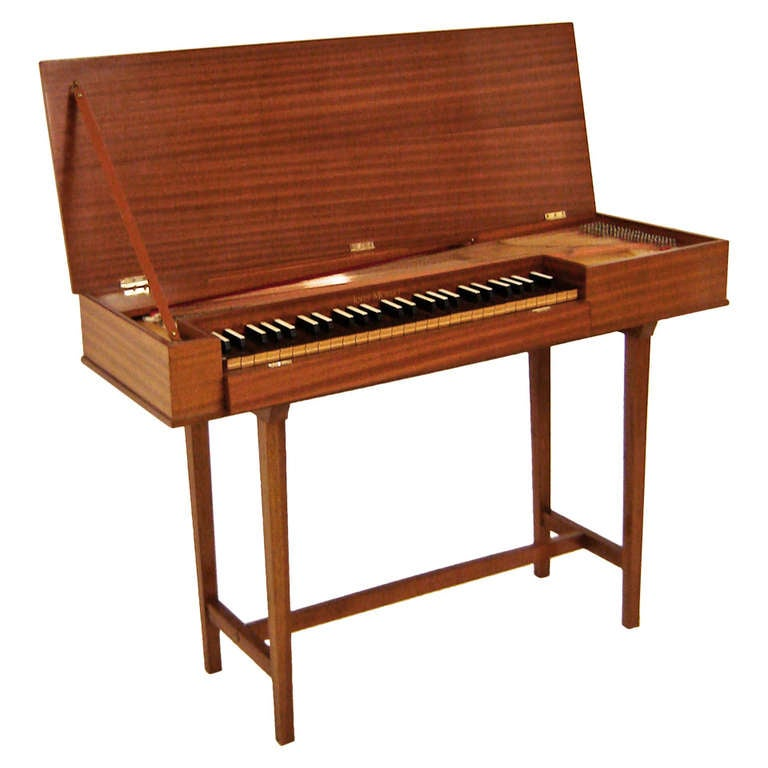 John morley 4 octave clavichord mahogany c1962 at 1stdibs for L furniture more kelowna