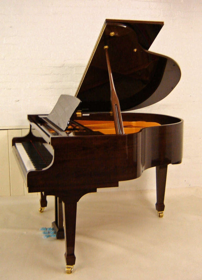 Steinbach Baby Grand Piano 148cm Walnut At 1stdibs