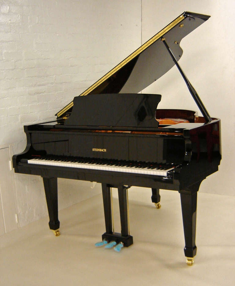 Steinbach Baby Grand Piano 148cm Black New At 1stdibs