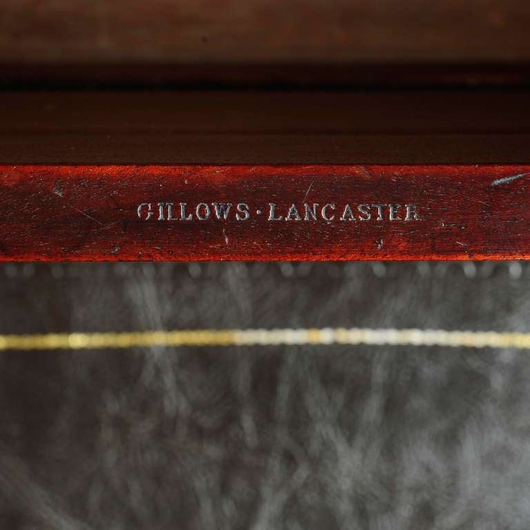 Regency Mahogany Bed Steps by Gillows of Lancaster 5