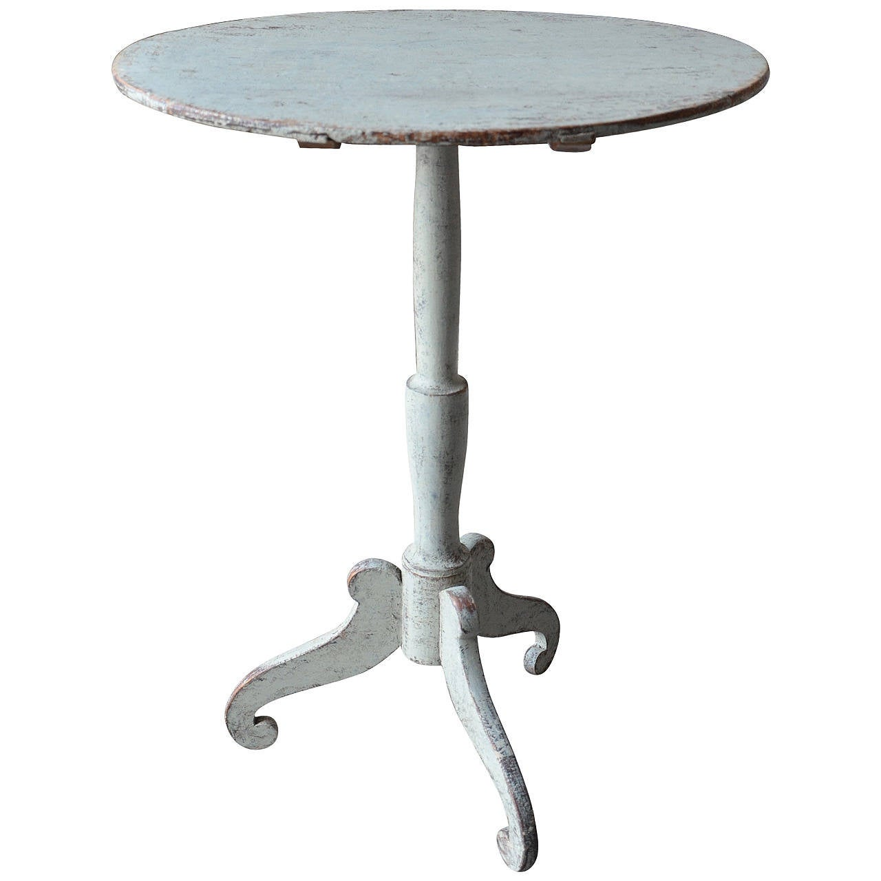 19th Century Swedish Gustavian Pedestal Table 1