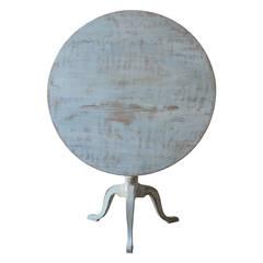 19th Century Large Swedish Pedestal Table