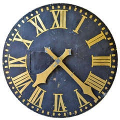 19th century French Clock Face