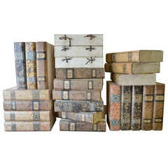 Italian Book Form Document Boxes circa 1920 -sold separately