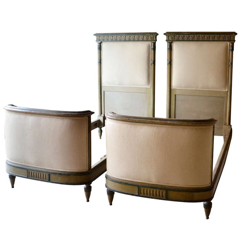 Pair of French 19th Century Beds For Sale
