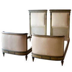 Pair of French 19th Century Beds