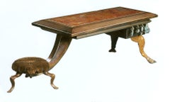 Occasional Table with seat by Mark Brazier-Jones