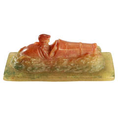 """Paper Weight """"Race Driver"""" by Almaric Walter and Henri Berge"""