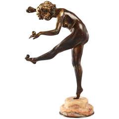Der Jongleur Skulptur