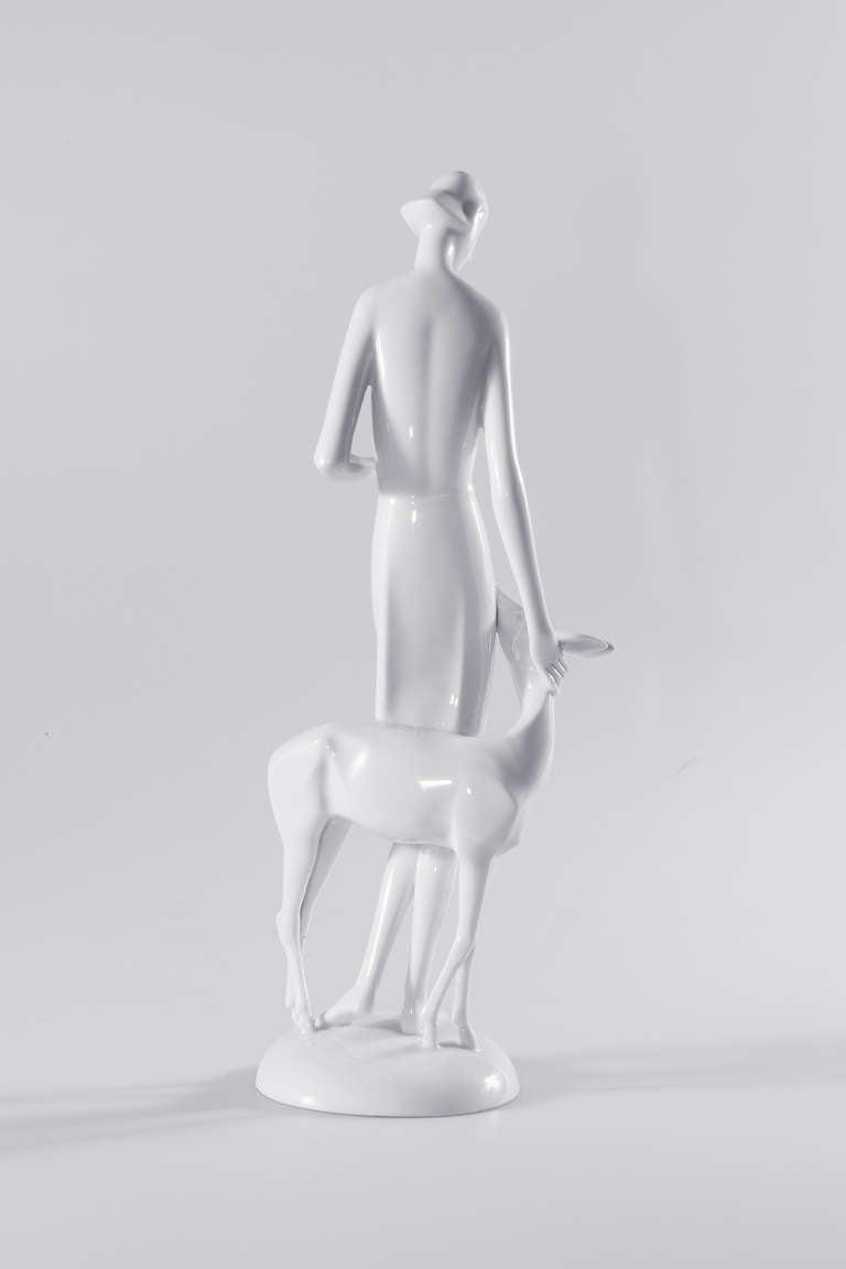 20th Century Art Deco Rosenthal Porcelain Figure Märchen 'Fairy Tale' For Sale